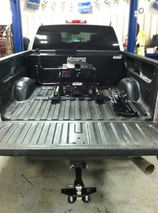 Fuel tank and hitches